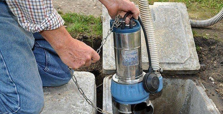 Pompe eaux usées