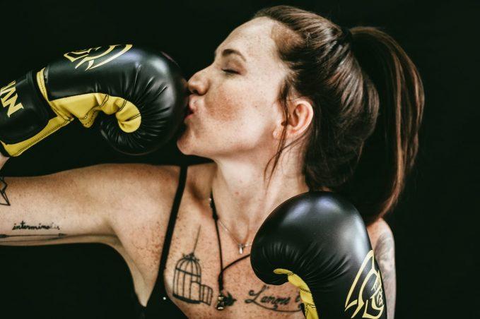 pratique de la boxe